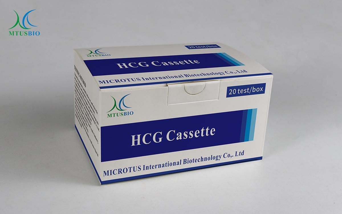 Human Chorionic Gonadotropin (HCG) Pregnancy Test Cassette  MTB-(HCG-01)
